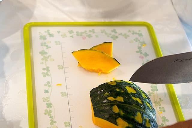 秋野菜のホットサラダ3